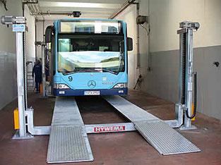 4 post bus lift | HYWEMA®