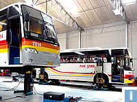 mobile column lifts for buses