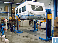 Commercial Vehicle Lifts for caravans