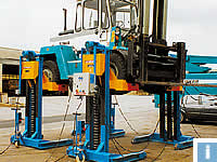 mobile column lifts for forklifts
