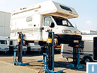 Commercial Vehicle Lifts for motorhomes