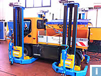 mobile column lifts for municipal vehicles