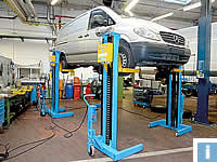 Commercial Vehicle Lifts for vans