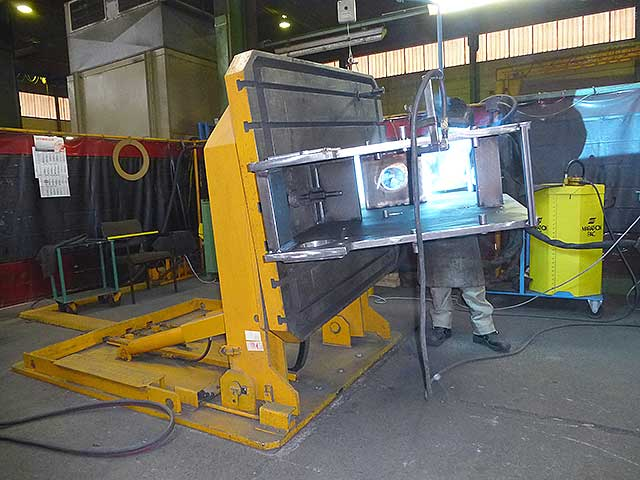 Welding Tilting Table Up To 10 To Hywema 174